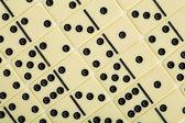 Bakgrund från domino — Stockfoto