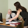 Bookkeeper and secretary — Stock Photo #2270143