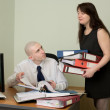 Bookkeeper and the secretary — Stock Photo #2270263