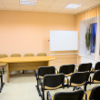 Interior of a conference hall — Stock Photo
