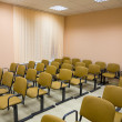 Interior of a conference hall in tones — Stock Photo