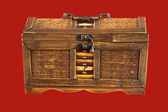 Ancient chest — Stock Photo
