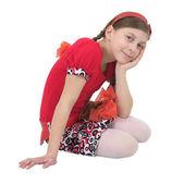 Mooi meisje portret — Stockfoto