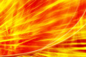 Fire abstract red - yellow background — Stock Photo