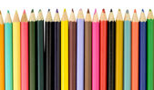 Set of color pencils — Stock Photo