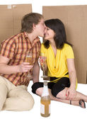 Pair of lovers — Stock Photo