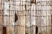 Ahşap çit arka plan — Stok fotoğraf