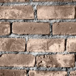 Stock Photo: Brick wall of building background