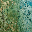 Stock Photo: Decayed cracked painted old wall background