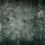 marco antiguo pintado hormigón oscuro pared — Foto de Stock