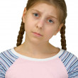 Sad young girl — Stock Photo