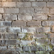 Royalty-Free Stock Photo: Background with old grunge brick wall