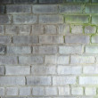 Surface of brick old grunge wall — Stock Photo