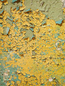 Ancient painted and cracked wall background — Stock Photo