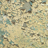 Grunge painted and cracked wall background — Stock Photo