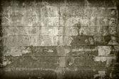 用木板盖的旧墙 — 图库照片