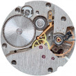 Royalty-Free Stock Photo: Old clockwork it is isolated on a white backgrou