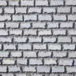Wall covered with a decorative brick — Stock Photo