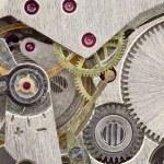 oude kleine uurwerk close-up textuur — Stockfoto