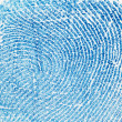 Fingerprint background — Stock Photo
