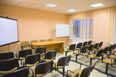 Modern interior of a conference hall — Stock Photo