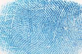 Fingerprint background — Stock Photo