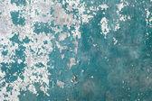 绿色 grunge 混凝土风化墙 — 图库照片
