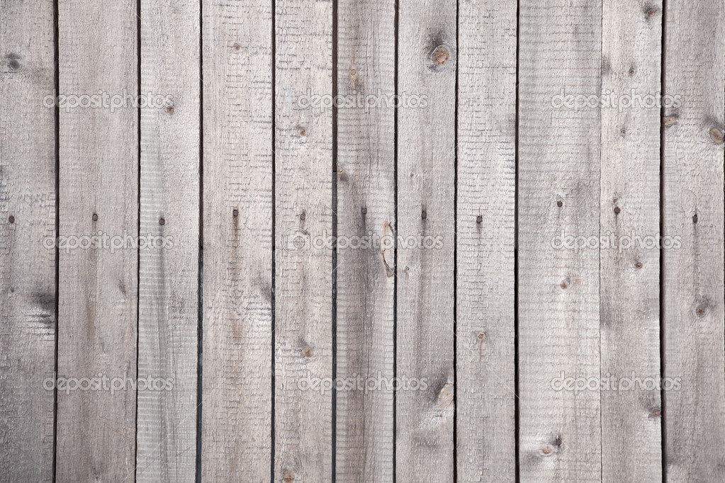 Wooden grunge rural rough grey background with nails — Stock Photo #2310578