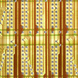 Retro circuit board background - 
