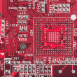 Background from circuit board close up — Stock Photo