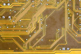 Electronic circuit board tech color background — Foto de Stock