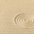 Stock Photo: Abstract composition - zen garden