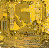 Background from a pattern electronic — Stock Photo