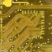 Hi-Tech plošného spoje textura — Stock fotografie