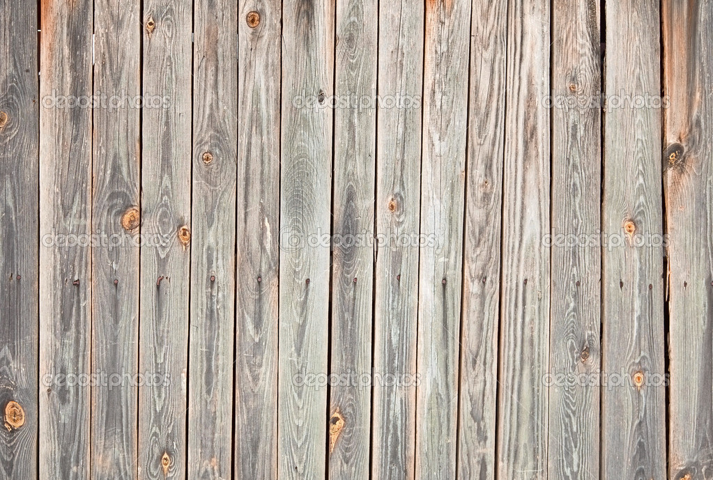 Weathered wooden wall with stains stock photo for Planche de bois vieilli