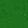 Abstract electronics green texture — Stock Photo #2372384