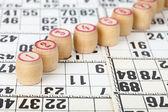 Fusti per bingo — Foto Stock