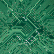 Royalty-Free Stock Photo: Circuit board electronic square texture