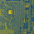 Stock Photo: Circuit board electronic backgroun
