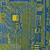 Circuit board electronic backgroun — Stock Photo