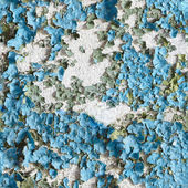 Seamless texture the wall with peeling — Stock Photo