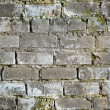 Seamless texture from dirty brick wall — Stock Photo