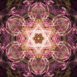 Abstract fractal surrealistic symmetric — Stock Photo