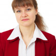 Royalty-Free Stock Photo: Portrait of unhappy business woman
