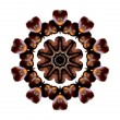 Royalty-Free Stock Photo: Coffee beans  kaleidoscope