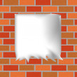 Illustration of brickwall background - Stock Photo