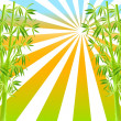 Illustration of bamboo — Stock Photo