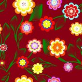 Floral background. — Stock Photo