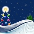 Illustration of Christmas Tree — Stock Photo #1384048