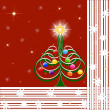 Illustration of Christmas Tree — Stock Photo #1384143